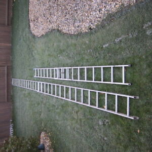 FOUR LADDERS FOR SALE - $300.00 FOR ALL (845.24 AT HOME DEPOT)