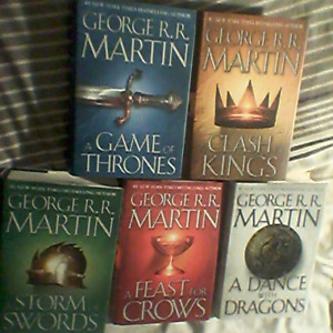 A Song of Ice and Fire (Game of Thrones): Hardcover novels/books