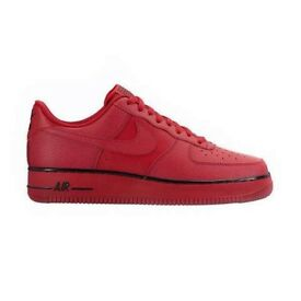 Red air force 1s size 8