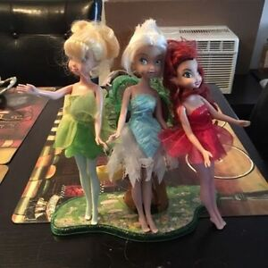 Disney Fairies dolls. AVAILABLE Gatineau Ottawa / Gatineau Area image 1