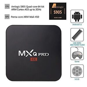 MXQ PRO SMART ANDROID TV BOX - CUT YOUR CABLE