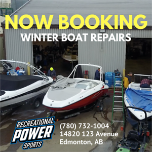 Boat Repairs – Winter Discounts & Layaway Plans!