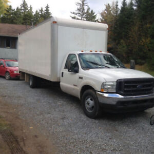 "2005/04 F350 Cubvans 22'2"" former bread trucks small rear door"