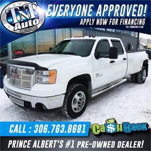 2008 GMC Sierra 3500HD SLT DUALLY 4X4! MASSIVE PRICE DROP!!