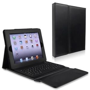 Leather Case Cover Keyboard Clavier Bluetooth iPad Mini 1 2 3 4