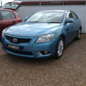 2011 Toyota Aurion GSV40R MY10 Touring Blue 6 Speed Sports Automatic Sedan Raymond Terrace Port Stephens Area Preview