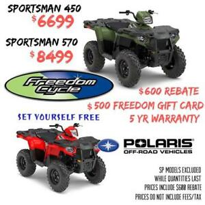 2018 POLARIS SPORTSMAN 450 OR 570
