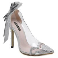 New Comfortable, Party Shoes - Silver Size 7.5 - CA $50