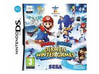 JOBLOT: Nintendo DS Games: Sonic Rush Adventure AND Mario & Sonic at the Olympic Winter Games