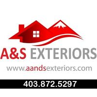 Roofer in Red Deer A&S EXTERIORS Free Estimates