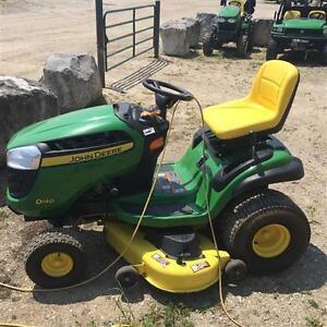 2014 John Deere D140 Lawn Mower