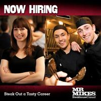 Restaurant Assistant Manager -- MRMIKES Steakhouse Casual
