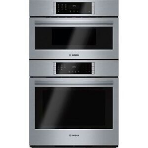 Bosch HBL8751UC Speed Combination Wall Oven, 30 in