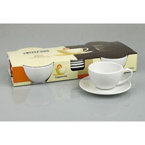 New Latte/Cappuccino Cups & Saucers