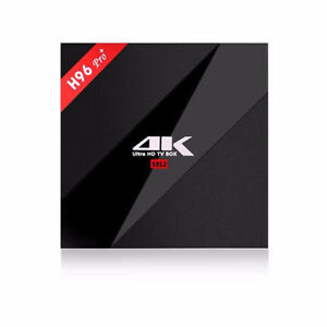 Android TV Boxes 4K H96 Latest Kodi 17.3, LIVE TV, MOVIES,SPORT