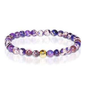 50% OFF All Jewellery - Wisdom | Gold Essence Purple Regarte Bracelet
