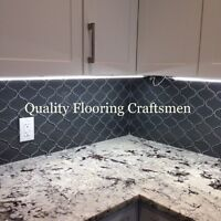 PROFESSIONAL INSTALLATION: HARDWOOD, TILE, NATURAL STONE