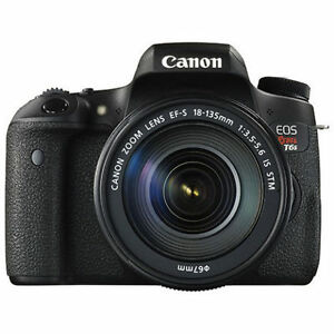 BRAND NEW Canon EOS Rebel T6s DSLR Camera with 18-135mm IS STM