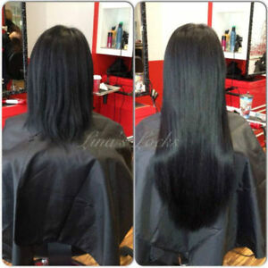 LINA'S LOCKS HAIR EXTENSIONS Fusion | Tape | Microlinks | Nano London Ontario image 9