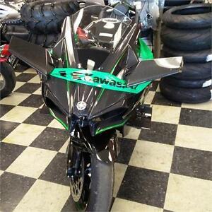Kawasaki H2R 1000 cc supercharge Demo