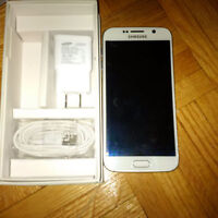 Like-new white Samsung Galaxy S6 for sale/trade