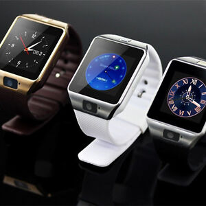 NEW  BLUETOOTH SMART WATCH - BLACK, WHITE, GOLD ORANGE COLOR $35