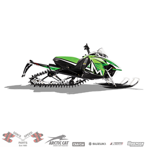 NEW ARCTIC CAT 2016 M 8000 141 LINE UP @ DON'S SPEED PARTS