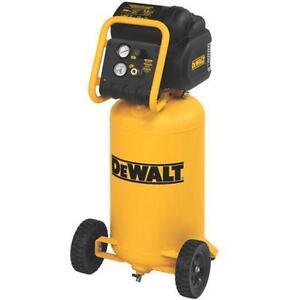 dewalt d55168 1.6 HP 200 PSI, 15 Gallon Compressor garantie