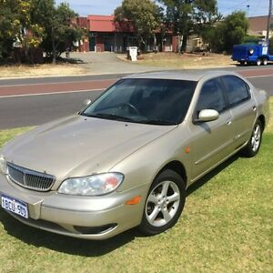 2002 Nissan Maxima A33 MY2002 ST Gold Automatic Sedan Wangara Wanneroo Area Preview