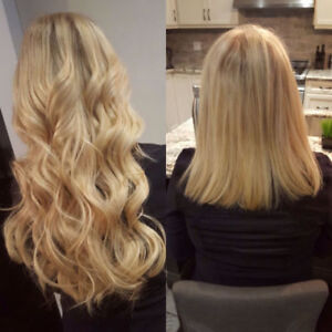 Quality Hair Extensions with Professional Install