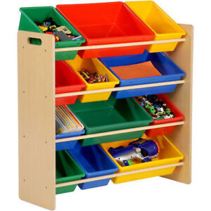 TOY STORAGE BIN FOR KIDS (FOR LIVING)-BRAND NEW, PACKING INTACT