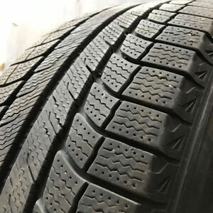 4x 245.65.17 Michelin XIce Latitude on 5x114 Toyota Alloy, $450! London Ontario image 1