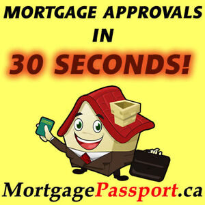 FAST MORTGAGE APPROVALS - NO CREDIT - BAD CREDIT NO INCOME