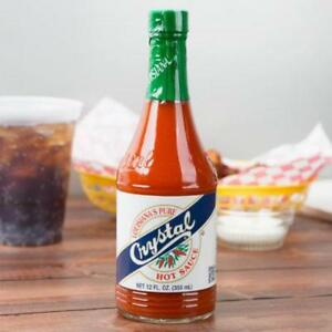 Crystal 12 oz. Hot Sauce - 12 / Case *RESTAURANT EQUIPMENT PARTS SMALLWARES HOODS AND MORE*