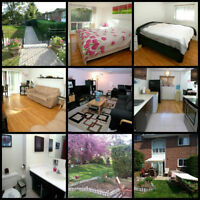 Beautiful townhouse with backyard, pool (Don Mills and Sheppard)