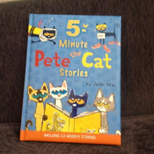 5-minute Pete the Cat Stories (hard cover) by James Dean