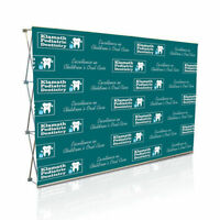 Backdrop Stand | Media Wall Stand | Trade Show Display Stand