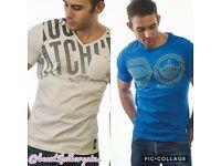 2 x crosshatch t-shirts