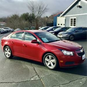 2014 Chevrolet Cruze Diesel with Leather/backup cam/bluetooth