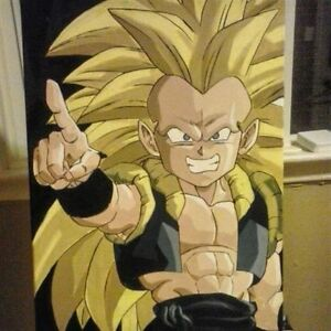 DRAGON BALL Z PAINTINGS !!!