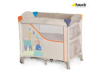 Hauck Sleep n Care Travel Cot Animals