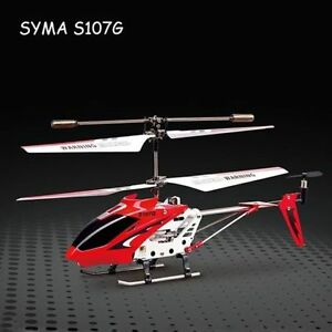 Syma S107G 3CH Mini Remote Control RC Helicopter GYRO New High