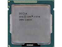 ★Intel® Core™ i7-3770 Ivy Bridge 3.4GHz-3.9GHz Turbo Cpu★