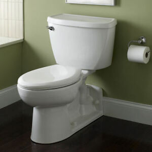 American Standard 1.6 gpf Elongated Pressure Assisted Toilet
