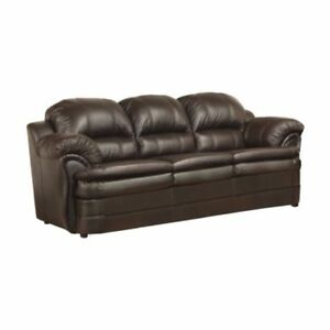 Brand New in Packaging Leather Sofa + Love Seat - Made in Canada