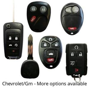 Chevrolet Car Truck Keys Remotes - We Supply, Cut and Program