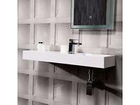 Brand New Stylish Sink - White