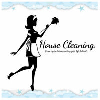 House cleaning offered in the west island