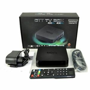 (Free Delivery) MXQ Android Tv Box ,KitKat Quad Core
