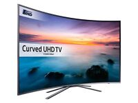 "Samsung 49"" curved Razor slim 4k smart Apps boxed with warranty"